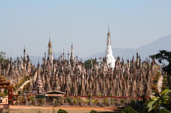 Kakku Pagodas : Forest of temples