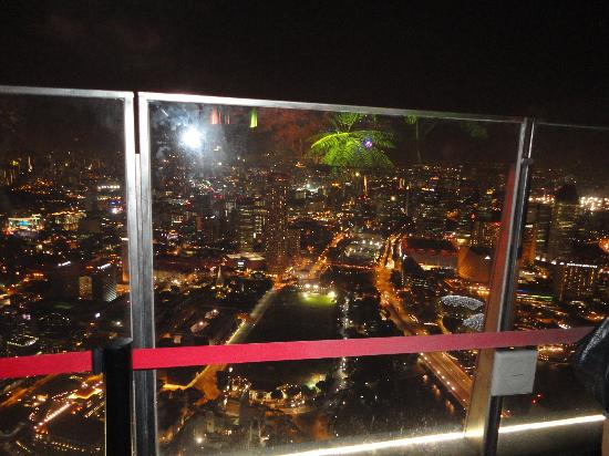 Gallery & Bar at 1-Altitude: night view 1