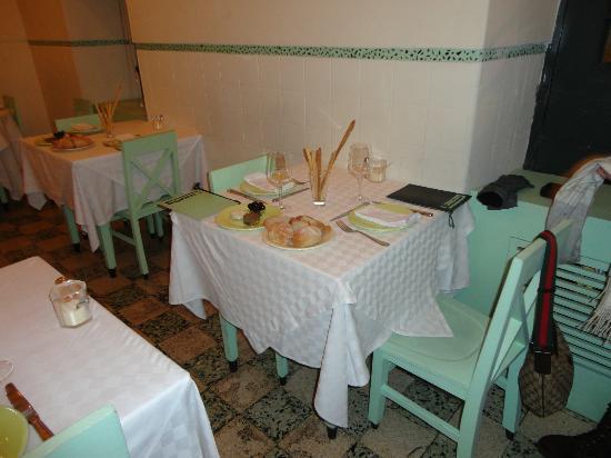Casa Nostra : i tavoli