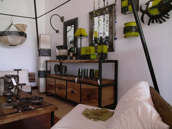 Arusha, Tanzania: the shop