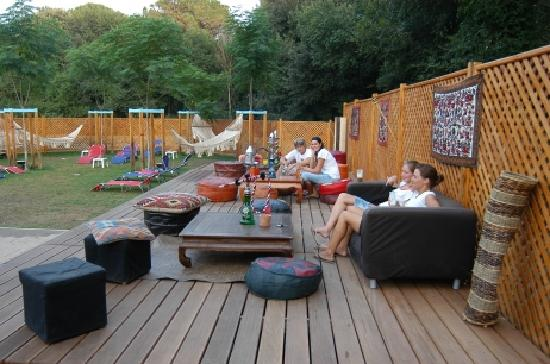 Country Club Castelfusano - Tourist Village, Camping: ChillOut Area