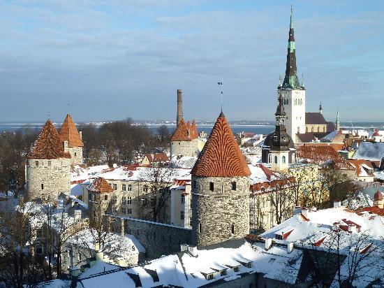 Hotel Telegraaf: Snowy vista