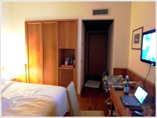 ホテル カブール ミラノ, 部屋の様子