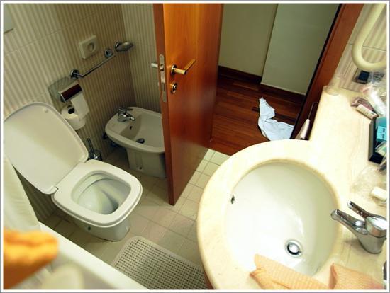 Hotel Cavour: バスルーム