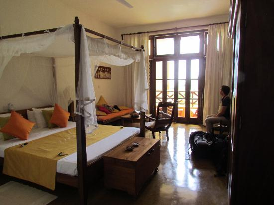 Barberyn Beach Ayurveda Resort: Our room no. 08