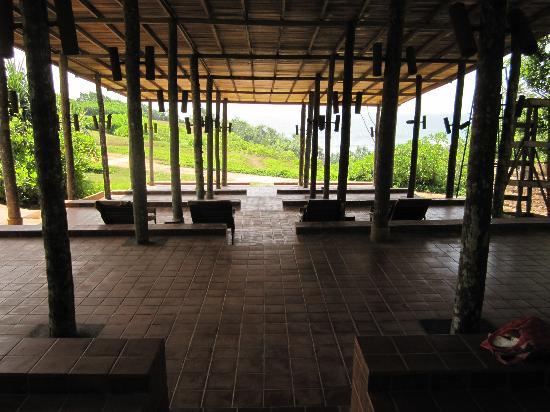 Barberyn Beach Ayurveda Resort: Meditation area