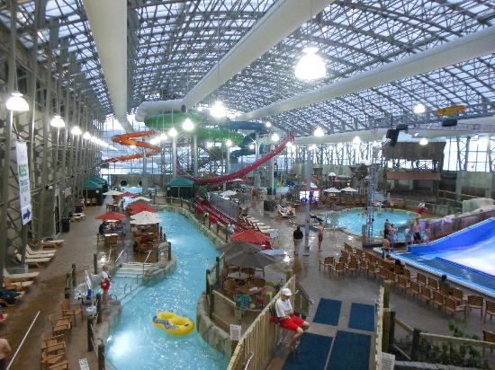 Jay, VT: fabulous indoor water slide park