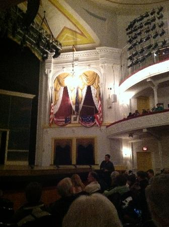 Ford's Theatre: View of President Lincoln's Booth