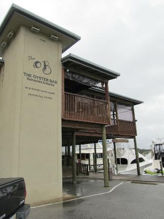 Perdido Key Oyster Bar Restaurant : Exterior.  February 2012.