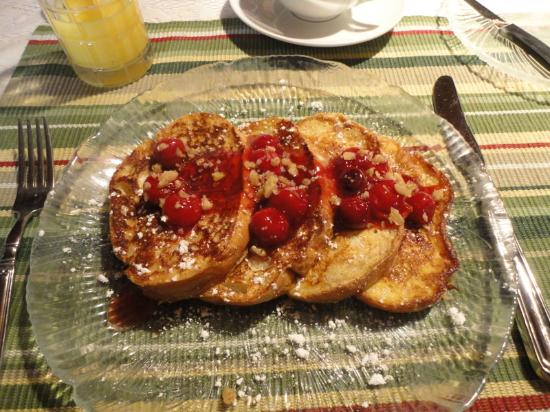 Rosendale Inn Bed and Breakfast: French toast
