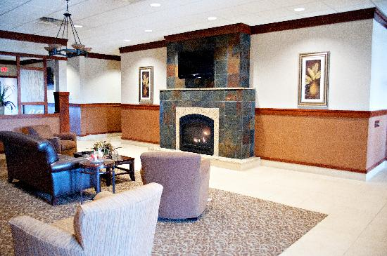 "Quality Inn & Suites Jamestown: Relax in our spacious ""Great Room"""
