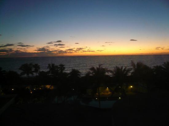 The New Casablanca on the Ocean Hotel: Amanecer desde habitacion vista al mar