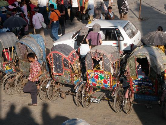 Hotel Marshyangdi: Best Transportation in Thamel