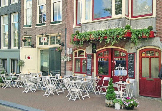 Photo of Cafe Greenwoods at Singel 103, Amsterdam 1012 VG, Netherlands