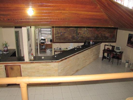 Sao Raimundo Nonato: Serra da Capivara hotel reception