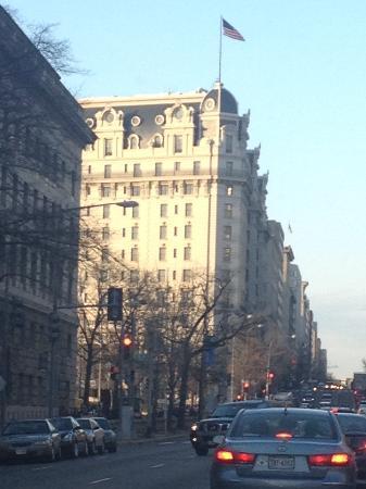 Willard InterContinental Washington: view from the street