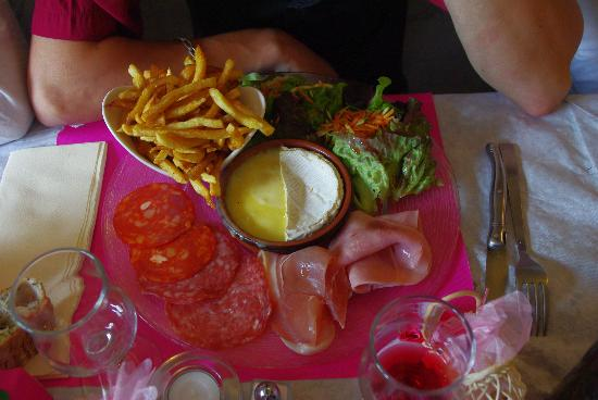 La Gavotine: plat