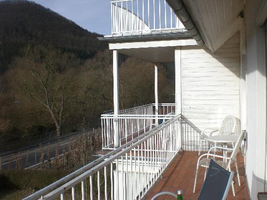 Haus Appel: Het grootste deel van de dag lekker buiten zitten in de zon!