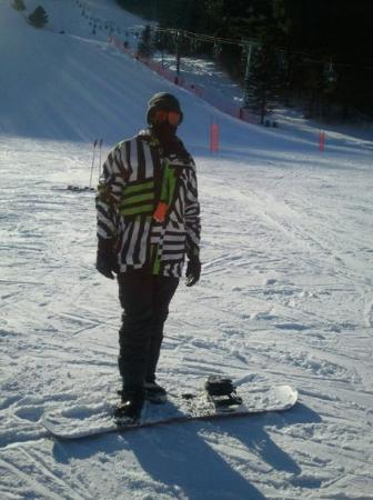 Snowboarding at Suicide Six, VT