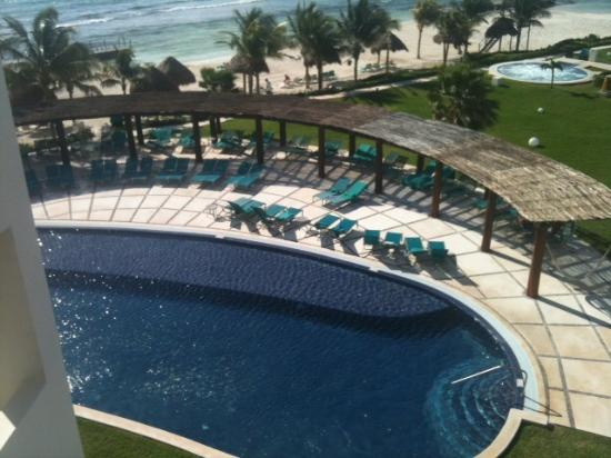 Secrets Silversands Riviera Cancun: View from Room 3429