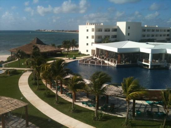 Secrets Silversands Riviera Cancun: Additional view from Room 3429