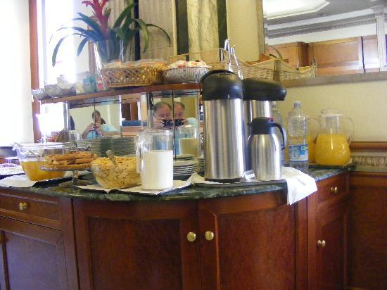 Hotel Giolli Nazionale: desayunador