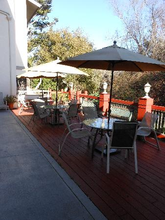 Colton Inn: Sun Deck