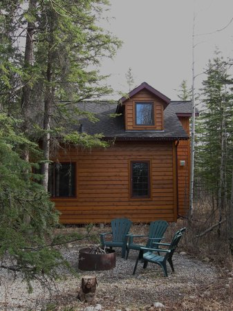 Deer Valley Bed & Breakfast : Rear view of cottage.