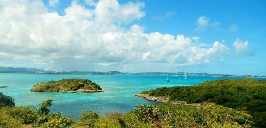 Paddles Snorkel and Kayak Eco Adventure: amazing views from the hike ! best way to see Antigua from Great people !