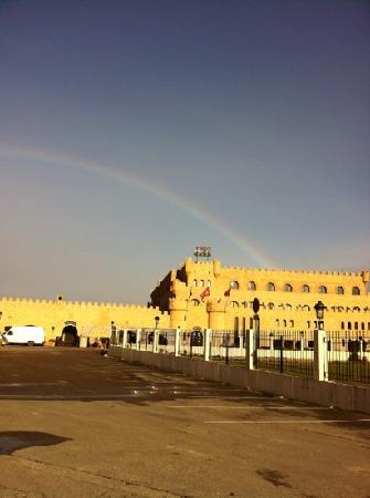 Hotel Castillo Bonavia: Arco iris!