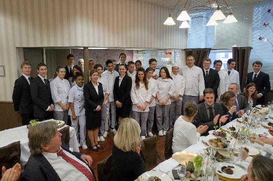 Le Charles: Banquet historique au Charles