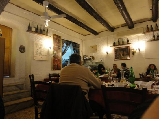 La Cantina di Via Sapienza: the place