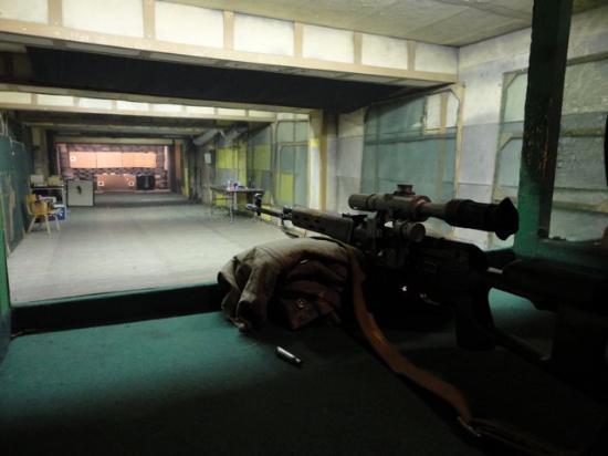 Celeritas Shooting Club: the russian sniper gun