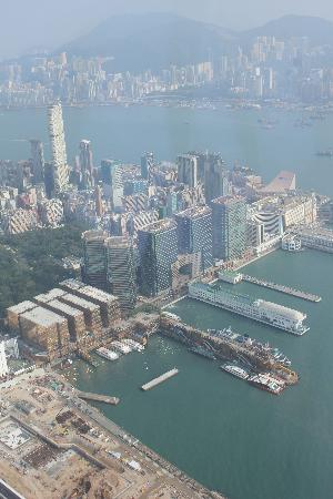 The Ritz-Carlton, Hong Kong : part of the view...amazing!