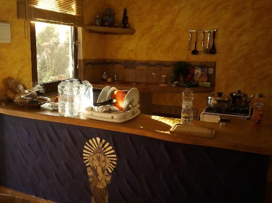 Casa Meca : Küchenzeile