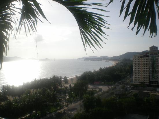 MerPerle SeaSun Hotel: La spiaggi ed il mare visti dall'hotel