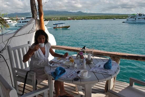 Angermeyer Waterfront Inn: desayuno maravilloso