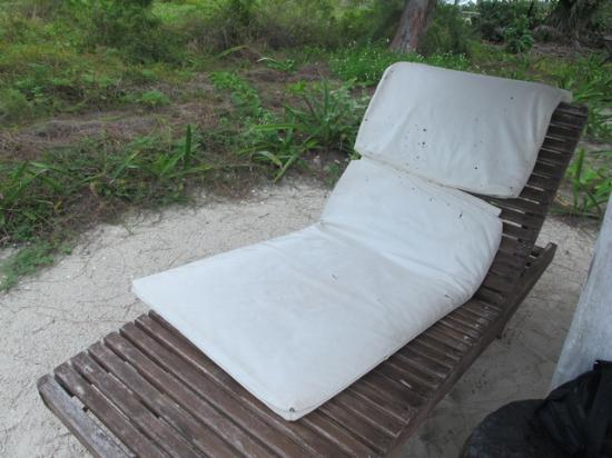 Xaloc Resort Old Beach Chair Cushion