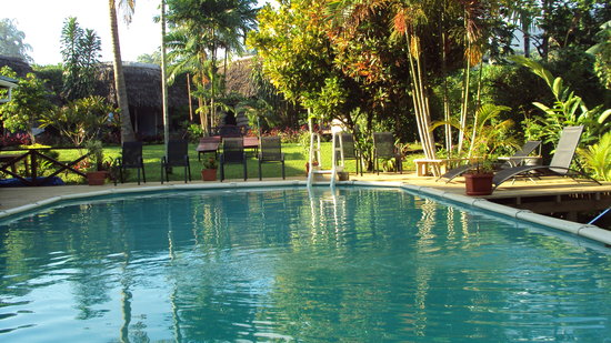Samoan Outrigger Hotel: Pool Deck
