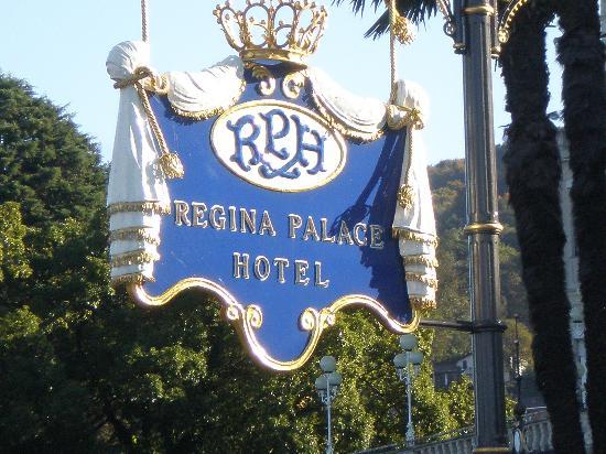 Regina Palace : insegna