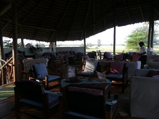Maramboi Tented Camp: Salon