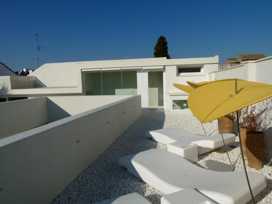 Hotel Viento10: terrasse de l'hôtel