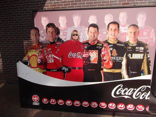 NASCAR Sports Grille: Big Heads