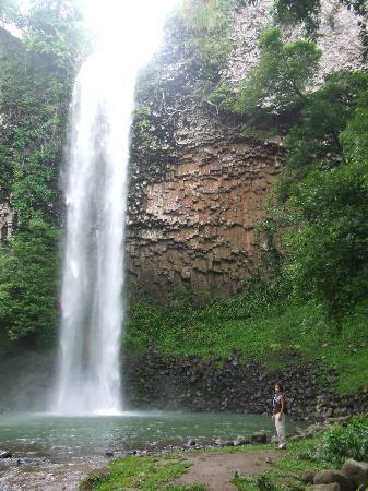 Panamá: Las Palmas waterfall