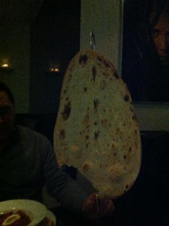 Akbars: Giant Naan Bread
