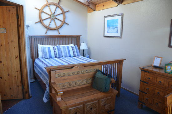 Sea Star Guesthouse: beautiful, nautic feel to the room