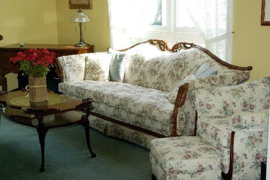 إقامة وإفطار بفندق باتلار كريك هوت تبز آند سويتس: Sitting room