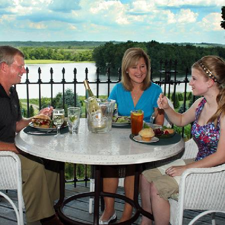 Pine Tree Barn: Rooftop Dining (In Season)