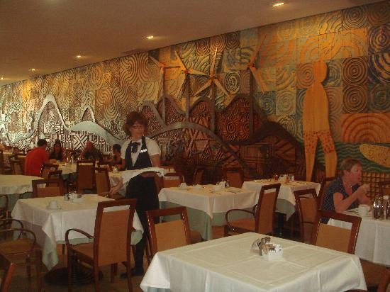Barcelo Fuerteventura Thalasso Spa : 1 petite partie du restaurant