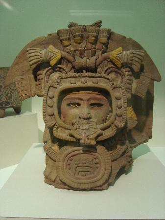 National Museum of Archaeology and Ethnology: cabeza